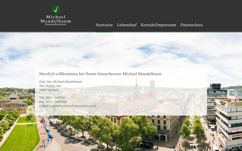 Steuerberater Michael Mandelbaum