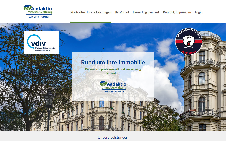 Aadaktio ImmoVerwaltung GmbH