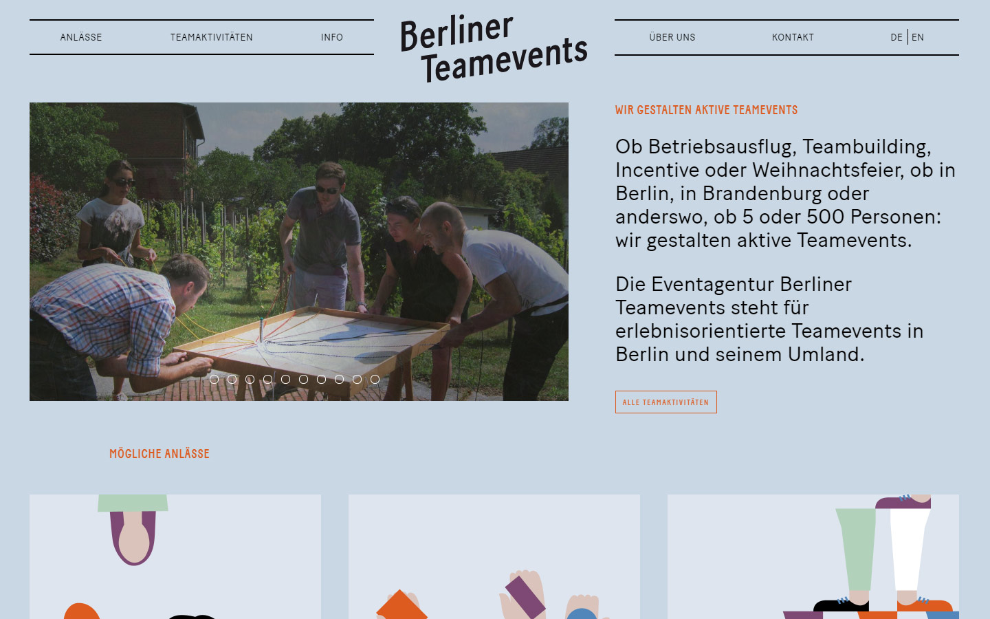 Berliner Teamevents